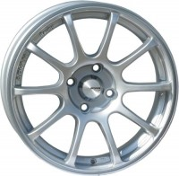 Wheels Advan 833 RS R15 W6.5 PCD4x100 ET35 DIA67.1 Silver