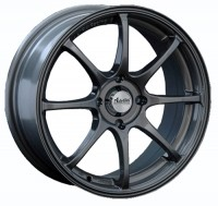 Wheels Advanti F6010 R15 W6.5 PCD4x100 ET38 DIA73.1 Black