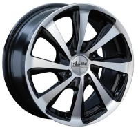 Wheels Advanti M7514 R15 W6.5 PCD4x100 ET38 DIA73.1 Silver+Black