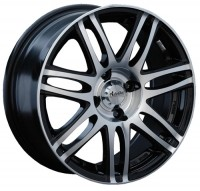 Wheels Advanti M7519 R15 W6.5 PCD4x100 ET38 DIA73.1 Silver+Black