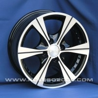 Wheels Aleks 5611 R13 W5.5 PCD4x98 ET35 DIA58.6 Black